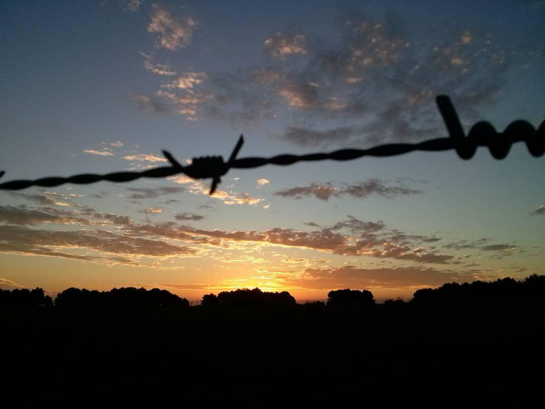 """""""¿Si no te vas, cómo vas a sentir las ganas de volver?"""" La sabiduría de mi madre. #atardecer #tramonto #sunset #february #nuevaatlantis #sun #cielo #sky"""