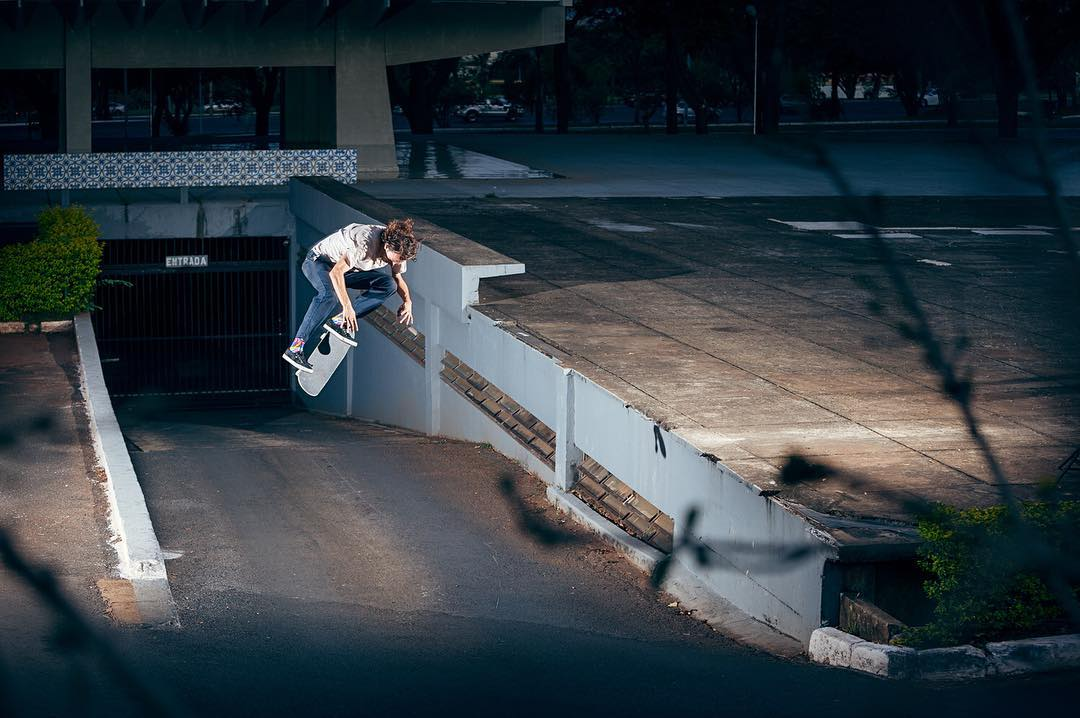 @starheadbody spreads his joy to the world with this backside flip from a recent trip to Brazil >>>