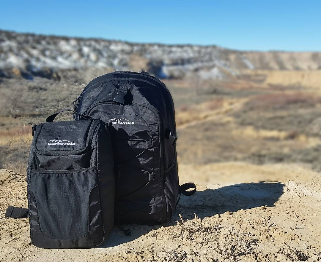 Outside somewhere in Utah with the Tahoe backpack and cooler.  #getoutside #utah #whatsyour20 #backpacks #coolers #graniterocx #outdoorsrocx