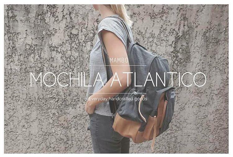 Introducing.. Mochila ATLÁNTICO!  Para llevar todo! • 4 bolsillos exteriores • compartimento especial para compu • bolsillo interno