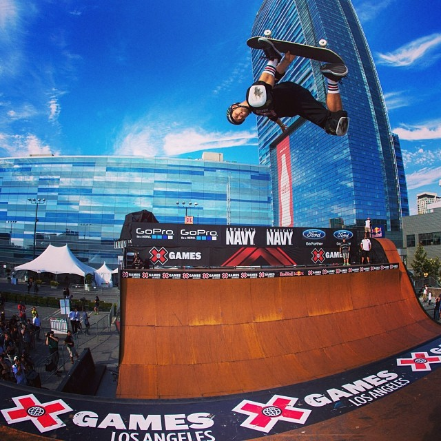 Here's to the weekend. #xgames
