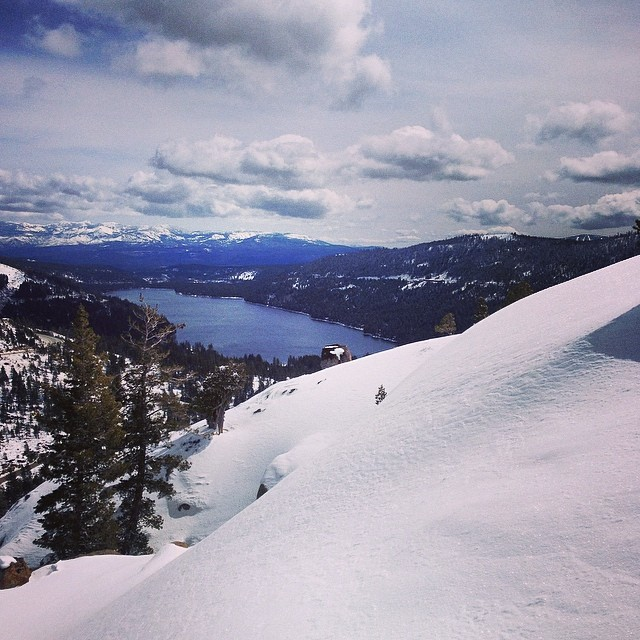 Donner Summit Area 51 #tahoebackcountry #thrive #donner