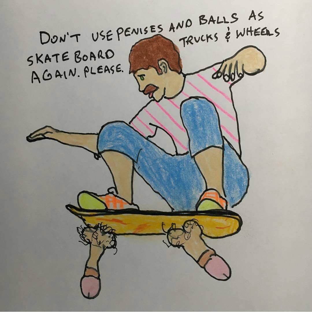 #skateanddestroy #loosetruckssavelives #porouswalker