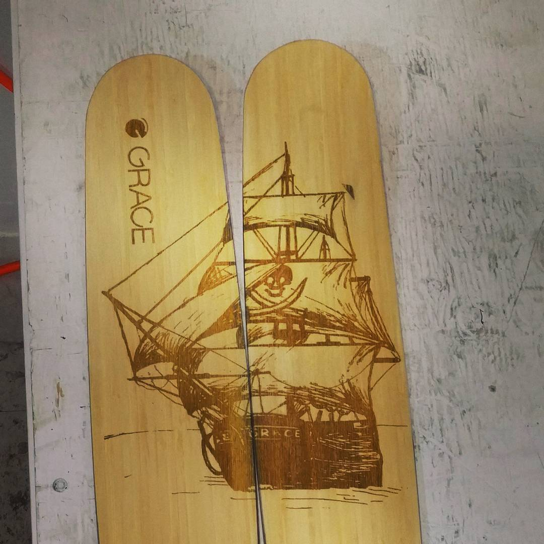 We put the finishing touches on these 186 kylies last night. Sailing to Revelstoke in a few days. Yaar its gonna be tough to let them walk the plank! But they'll be plundering Rogers pass and all that buried treasure!!! Hope you love em @kylelamothe...