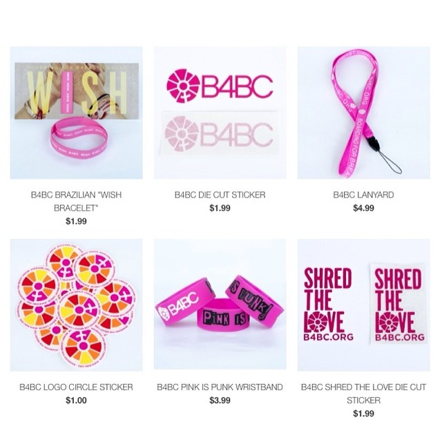 B4BC ONLINE SHOP IS LIVE!! You asked, and we listened!  We partnered up with local surf shop @SpyderSurf to offer an online shop where you can purchase all things B4BC and show your support all year long!  We've got B4BC logo and Shred the Love...
