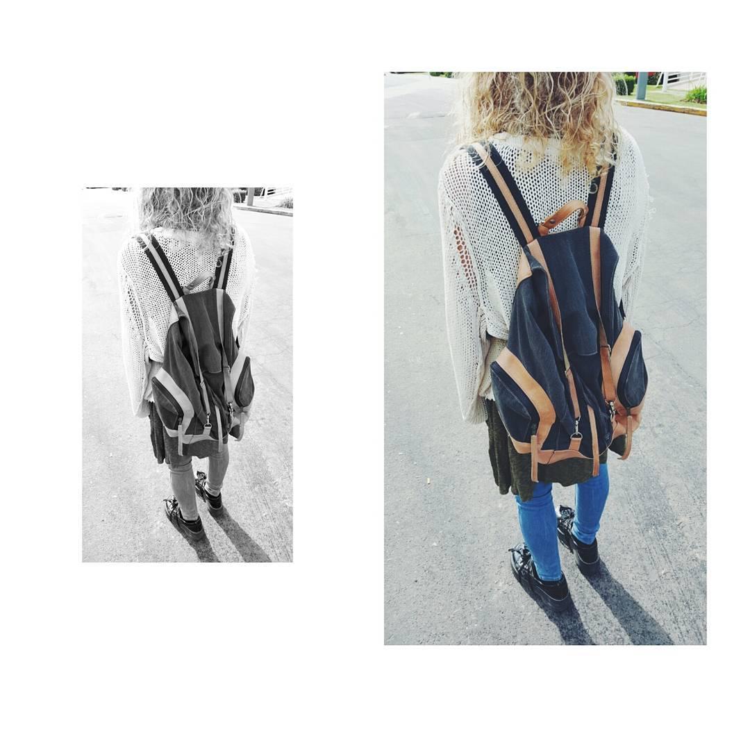 Mochila Junco / Canvas Originals  En nuestros puntos de venta y en el Shop online www.mambomambo.com.ar  #style #backpack #bag #buenosaires #canchera