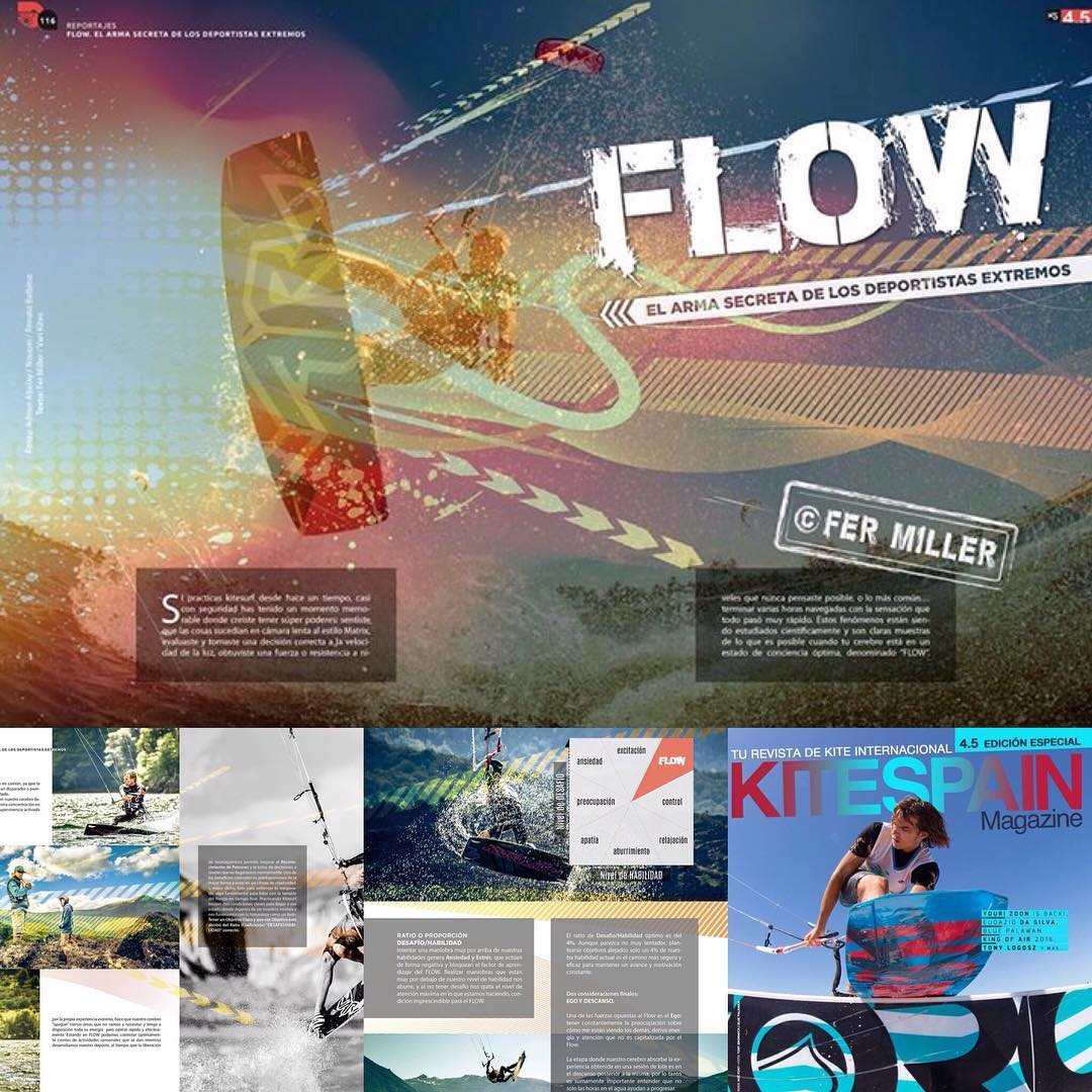 Check out this article written by @fermiller_kitesurf! Magazine: @kitespain. #flow #kitesurf #kite #kiteboarding #riderpro #fermiller #kitespain