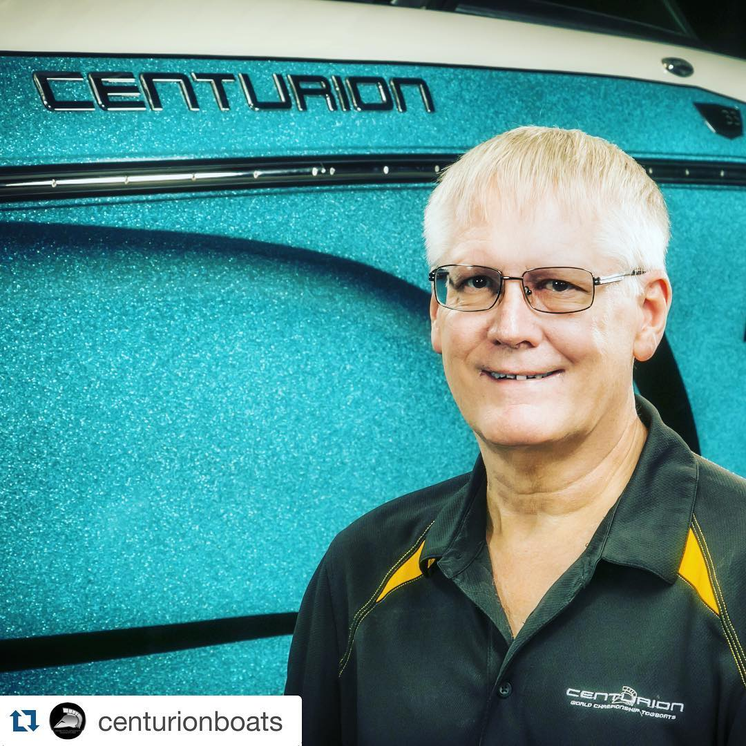 "Remembering a great man this morning... Les Clark was kindness, he was strength and he was positivity.  Our thoughts and our hearts are with Les, his loved ones and the Fineline family. ✨ ・・・ #Repost f/ @centurionboats: ""The Centurion Boats family lost..."