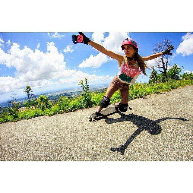 @carlafaxass i shred thiiiiis much #smellsgood #keepitholesom  @Regrann from @carlafaxass -  Photo: @juanca_p  heights  #bustinboards #teamgirlas #toeside180 #caribbean #longboardgirlscrew #holesom #heights #Regrann