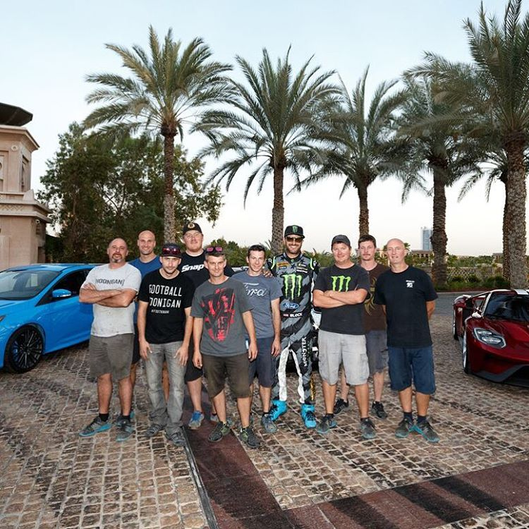 I'd also like to give a big thank you to my @HooniganRacing team for keeping my Ford Fiesta ST RX43 running flawlessly throughout filming. It takes a lot of work to make a top-level racecar run for five hard days of shooting, but these guys handled it...