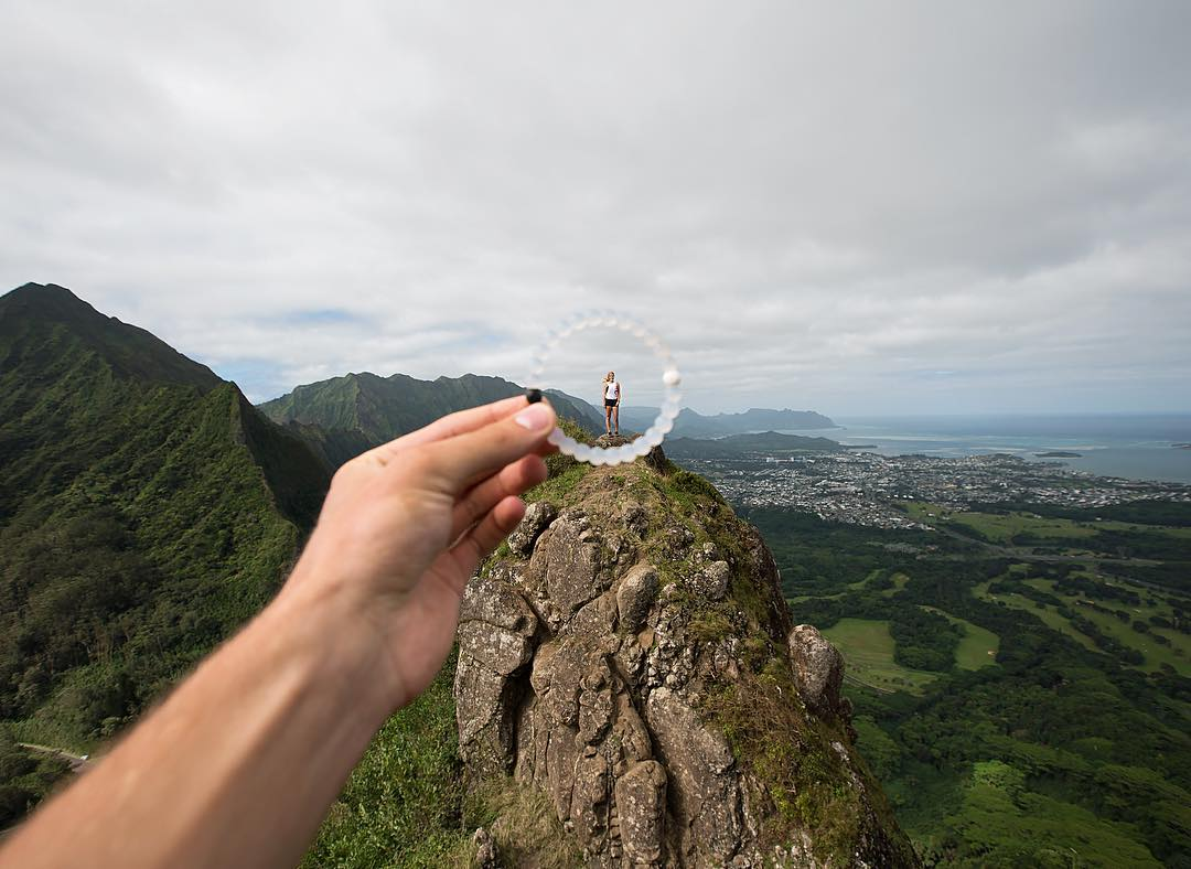 Mountain of one #livelokai Thanks @808amir