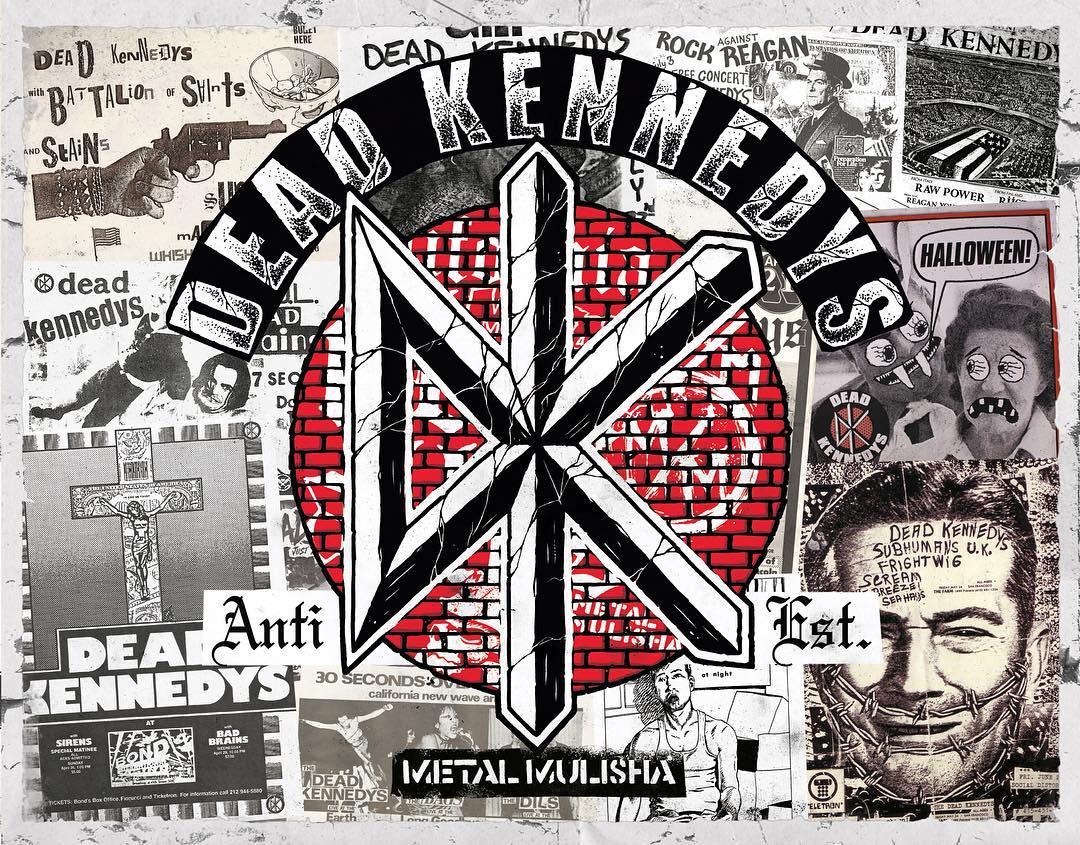 #DeadKennedys ✖️ @MetalMulisha