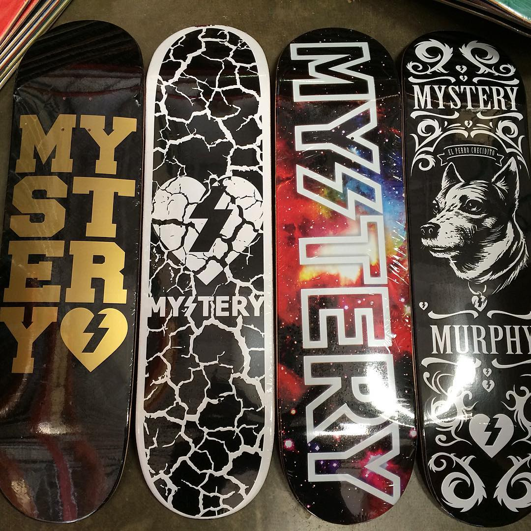 Freah restock on some of our favorite graphics. That @murphyflies deck tho.