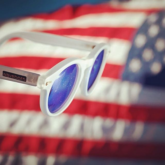 These colors don't run #waveborn #madeinamerica #findthesun #givesight #usa