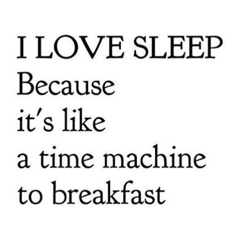 It's the most important meal of the day #breakfast #timetravel #love #sleep #waveborn