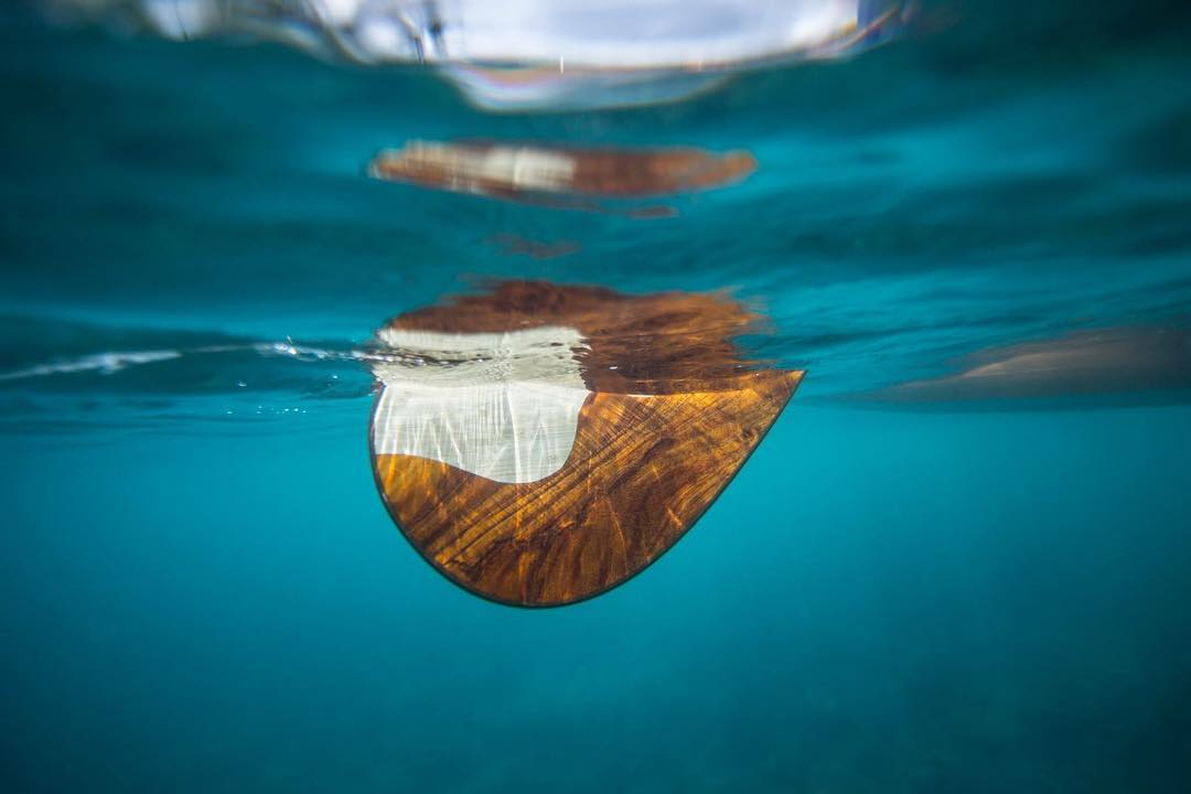 Loving the mystery, something about it. By @jeffdotson #bamboopaddle #sustainablesurf #sustainablepaddle #standupjournal