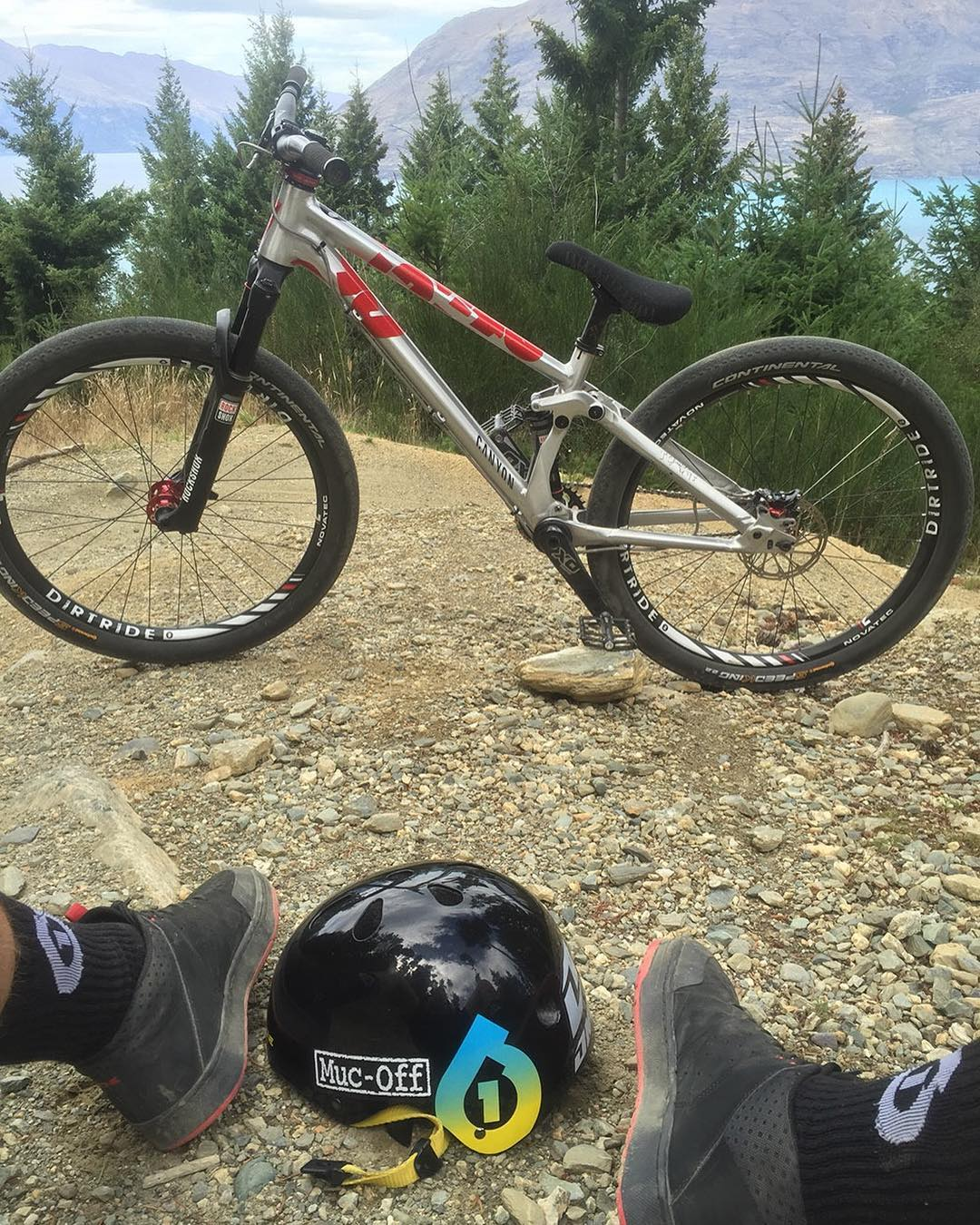 @tomaslemoine #HappySaturday View... What are you riding today?! #SixSixOne #DirtLidPlus #661Protection #ProtectFun