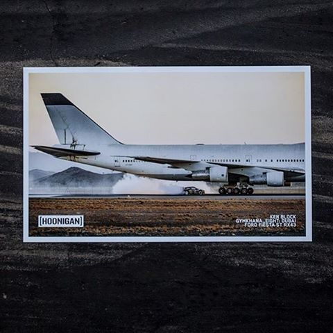 Poster time! @TheHoonigans just dropped this Blabac-shot gem from #GymkhanaEIGHT at #HooniganDOTcom. They won't last long though, head over there for your chance to get one! #licensedtohoon @blabacphoto