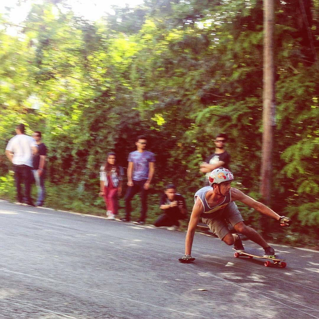 @Regrann from @delpatiolongboarding -  Giancarlo ripping nasty #delpatiolongboarding #mortadellajam #redbull #longboard #downhill #shred @gdivanna sick #smellsgood #keepitholesom
