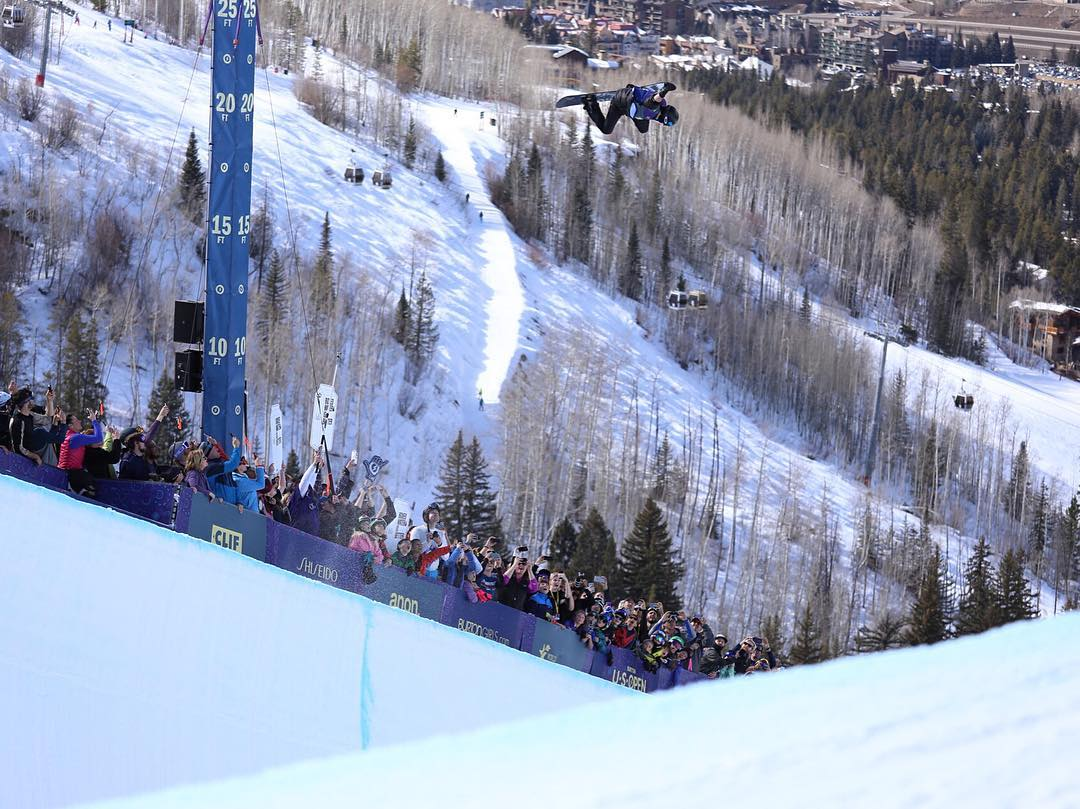 His own airspace.  Today in Vail, @shaunwhite made it very clear that he's still the greatest halfpipe rider in the world. Cheers on the win. |