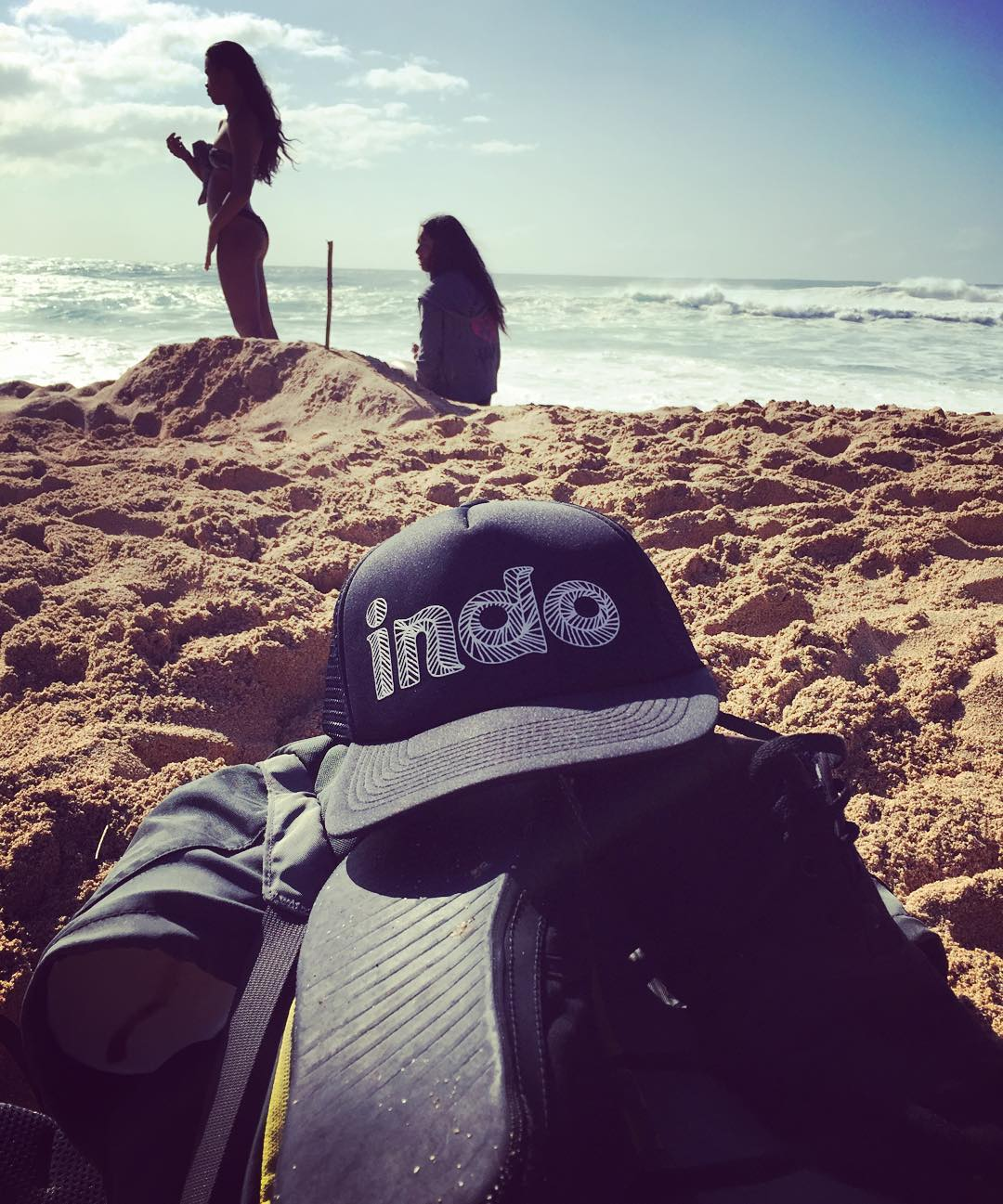 Getting to #Waimea Bay last week to watch the #Eddie contest with 25,000 other people was an adventure to say the least...that included renting an underpowered Moto-scooter just like the last time in #INDO