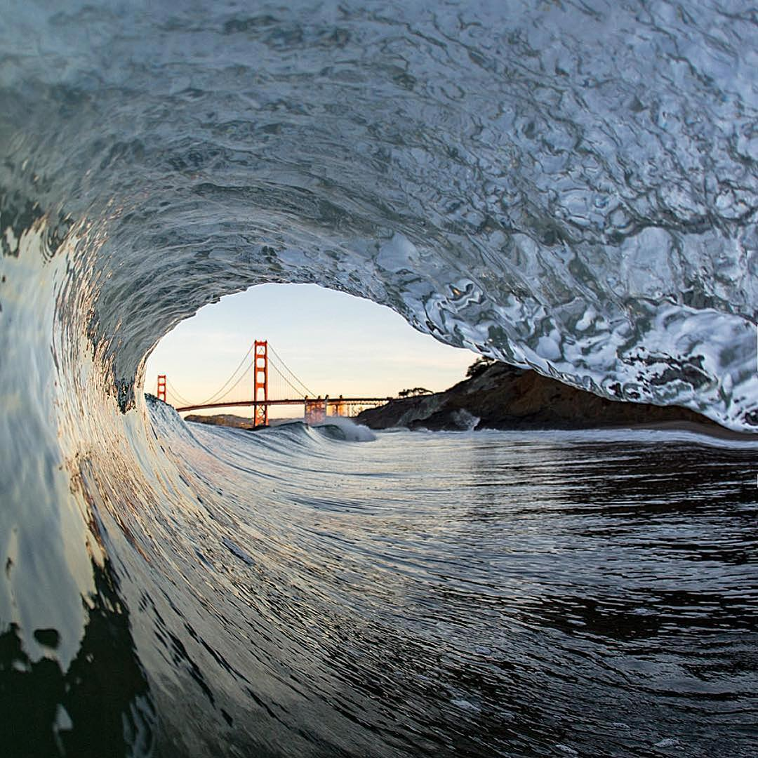 Enjoy a similar view tomorrow from the sand with @patagoniasf X SFSurfrider's Beach Clean Up. Mon 3/7 Baker Beach 10am-12noon