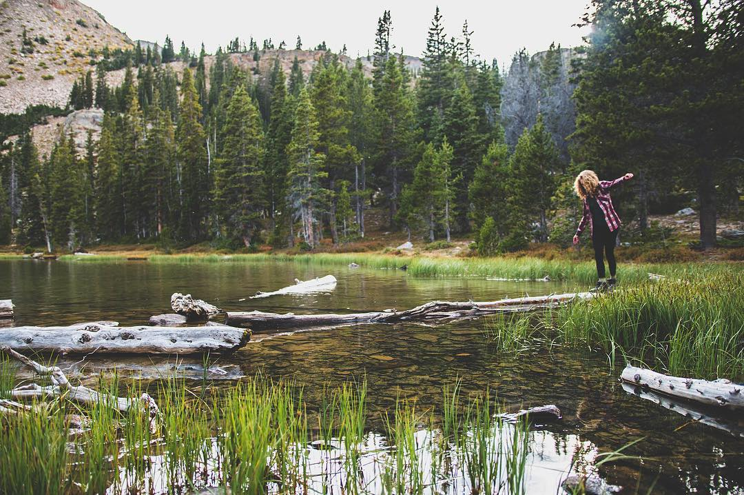 [GIVEAWAY] Final Day! Hi, from @nocea_clothing, today we are wrapping up our take over! This shot of Amethyst Basin was taken early morning in the Uintas. We hiked to Christmas Meadows in the night and woke up to this site right in front of us the next...