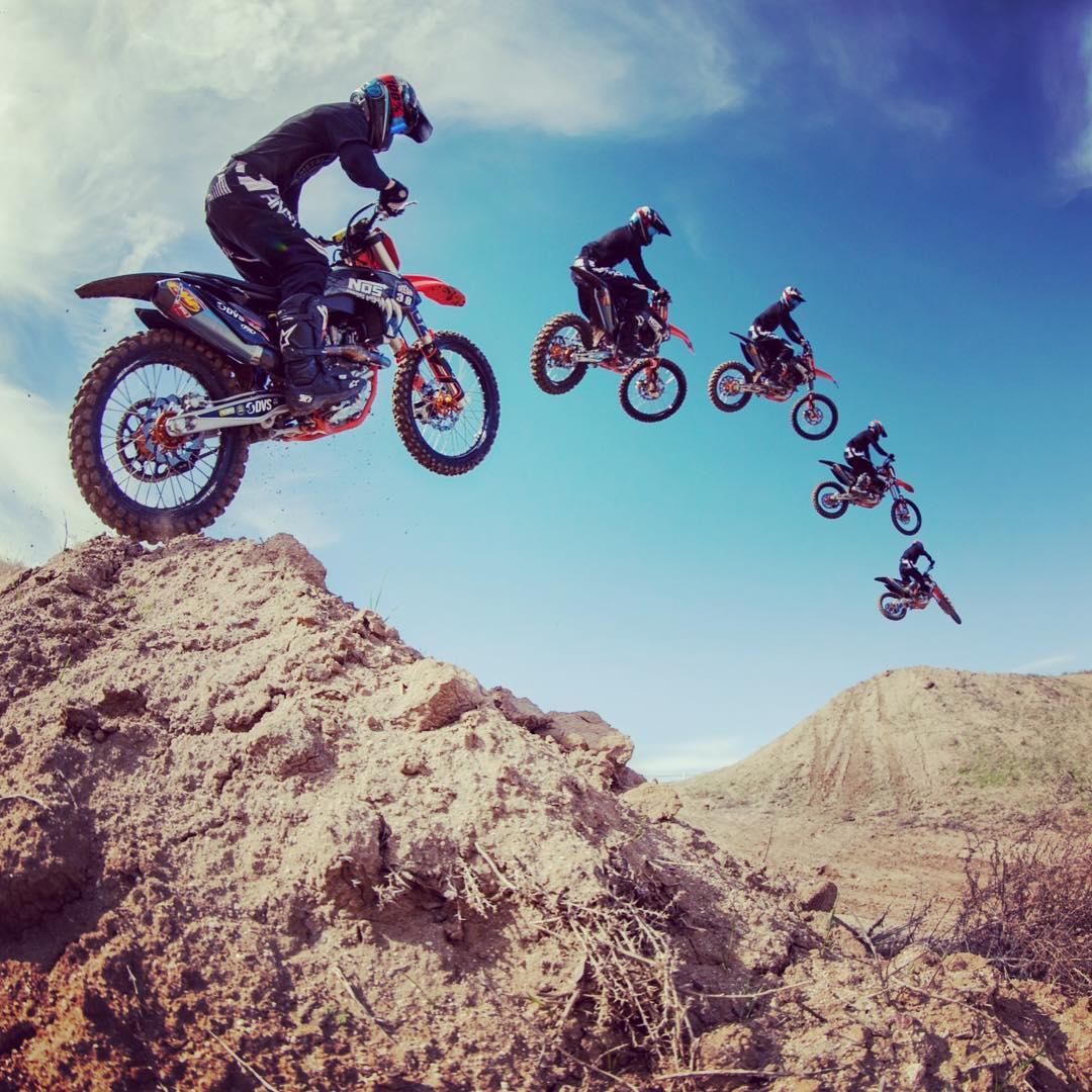 Backyard booter!! #jump #Moto #Deegan38 @nosenergydrink