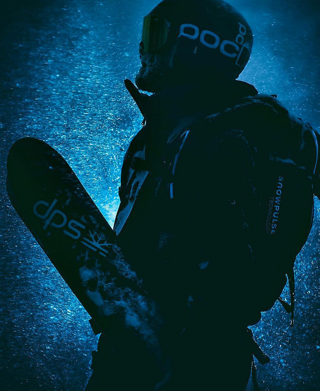 """Claudio Pittin goes into the mystic for """"Dream Book 2017"""" a magazine published by Skiservice Corvatsch Sport Shop in Bernina, Engadin, CH. @gian_giovanoli behind the lens #dpsskis"""