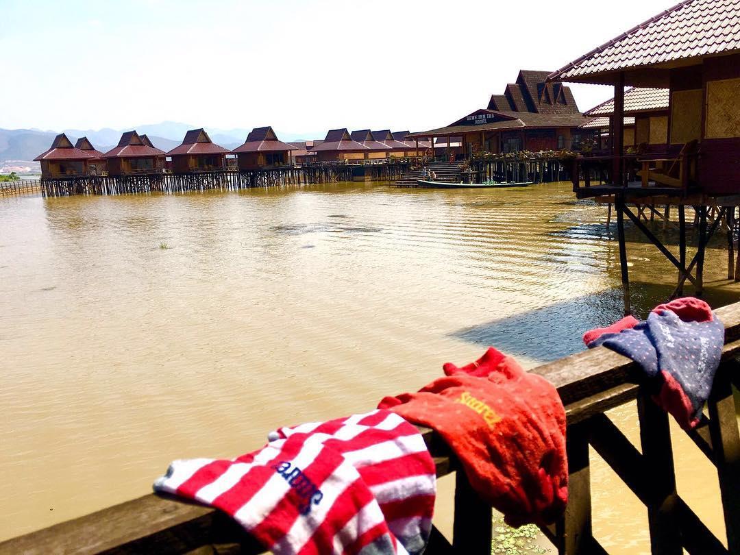 Buen día desde Inle lake #Myanmar buen #lunes buena semama a romperlaaaa