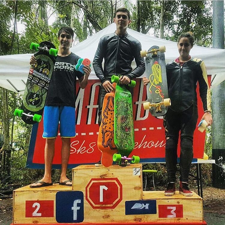 LGC Puerto Rican rider @mariel_86 took 3rd in Open Category and 1st in Women's this past weekend during the Bettle's Outlaw in Puerto Rico! Killing it!! #longboardgirlscrew #womensupportingwomen #skatelikeagirl #puertoricodh #lgcpuertorico...