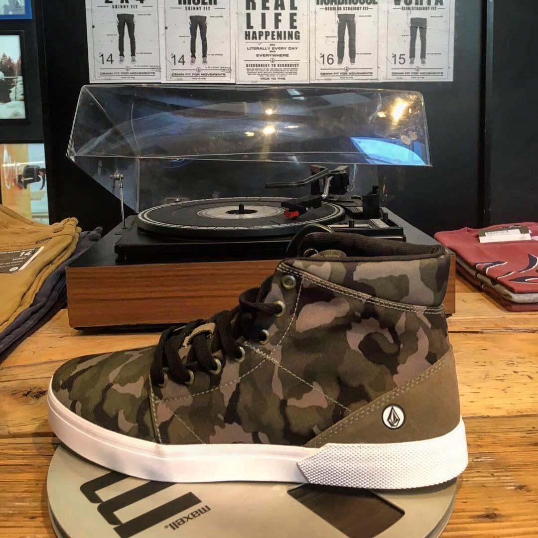 Buzzard camufladas #AW16 #volcomfootwear