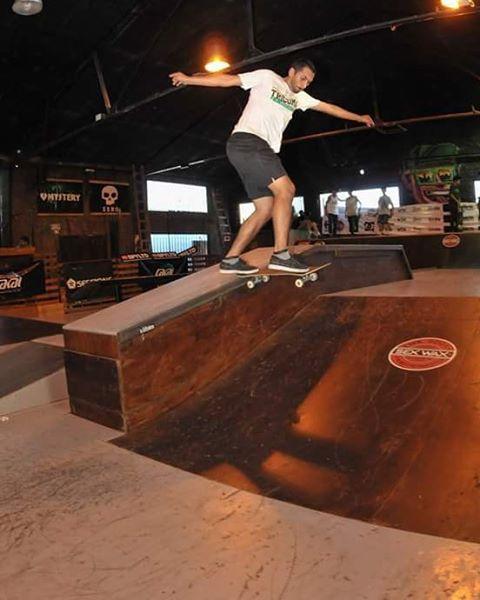 Daniel Marquez bs T en big jump Rosario @marquezsk8