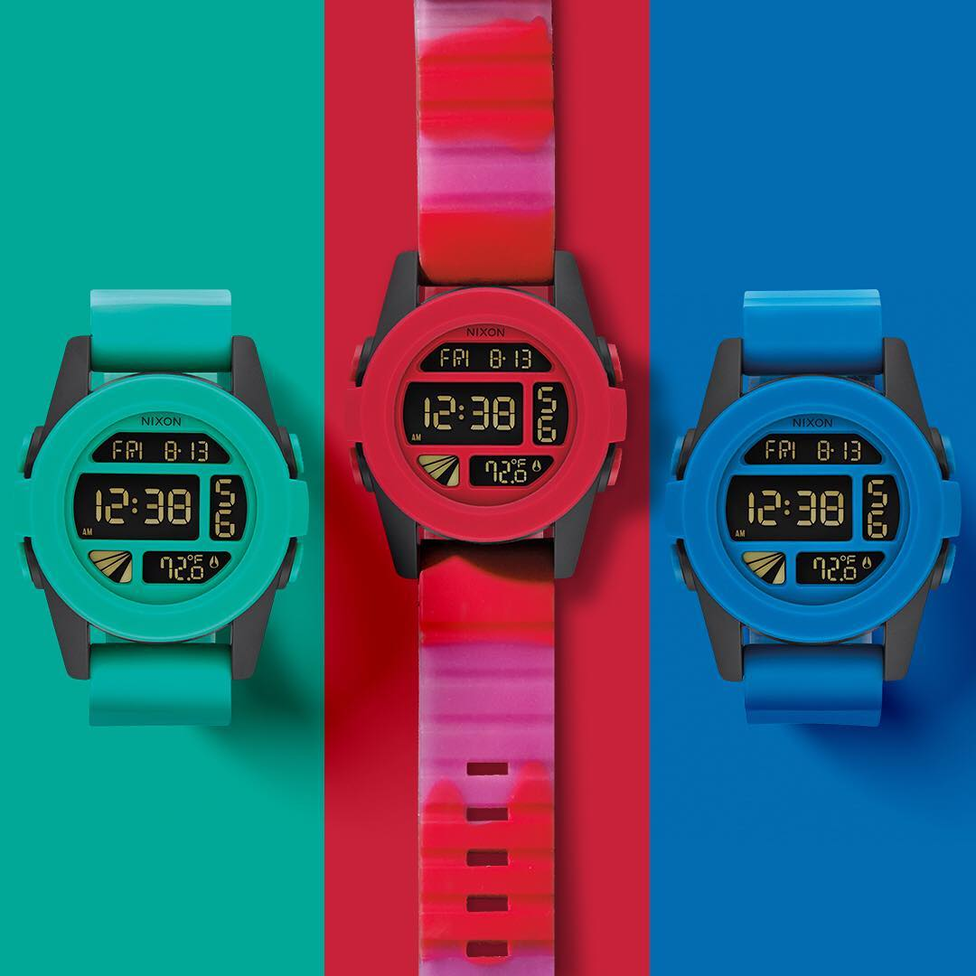 From pure saturation to pure opacity, the Rockin' A Fade Collection is inspired by the greatness of the gradient. #Nixon
