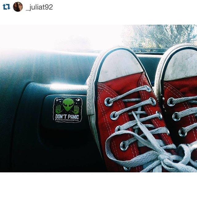 ❤️ @_juliat92 #urbanroach #yeah #sticker #alien