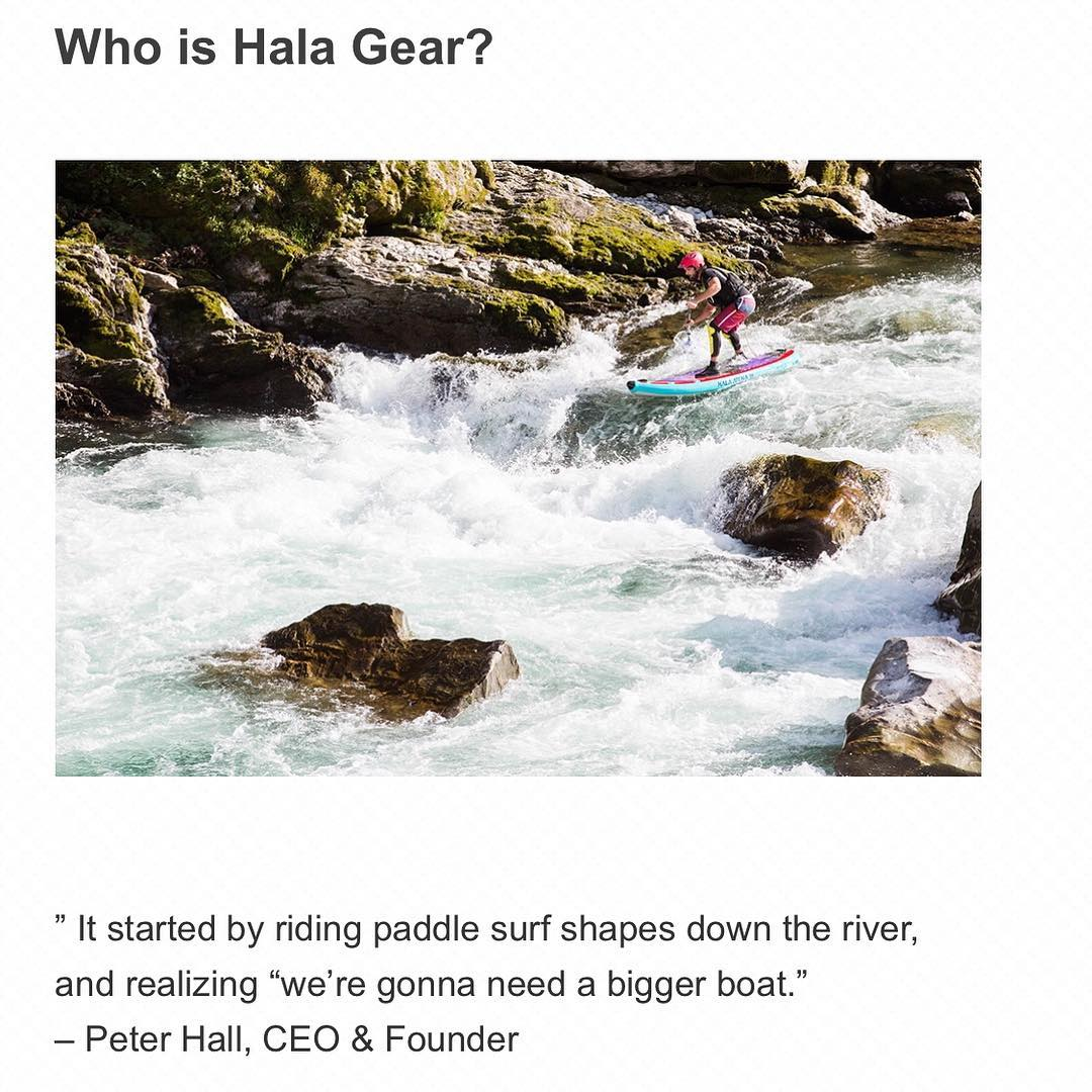 Check out our new page and find out who is Hala Gear! www.halagear.com/who-is-hala/  Hala's Performance Shape Inflatables™ are the result of endless prototyping, honing in the product, constantly evolving and pushing the design limits. Our extensive...
