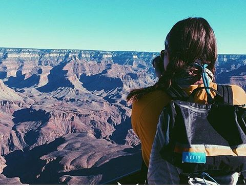 Congratulations to @sarahesloan on winning our windcarrier challenge for the month of February! Your free Classic Tote is on its way.  Sarah is part of our College Ambassador program and has been enjoying unique views like this one in #grandcanyon with...