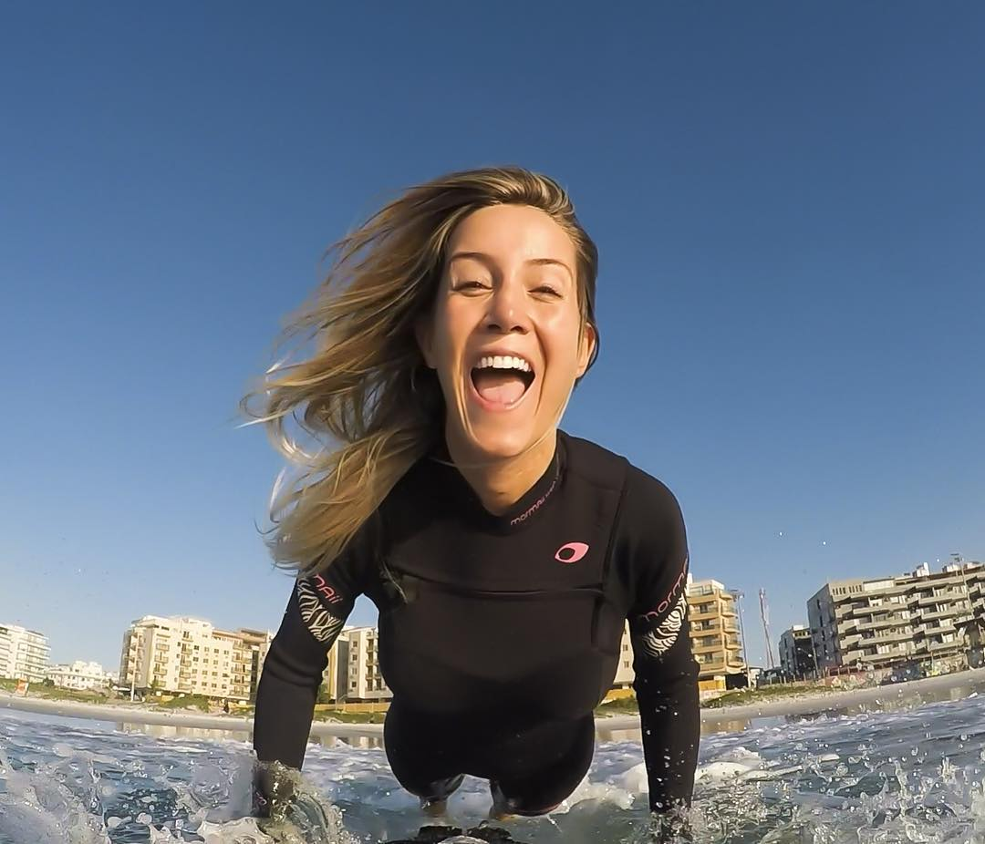 #IWD2016 6 of 7: Today is #InternationalWomensDay, a day to support women, celebrate women, encourage women and inspire the change for equality. Our next #goprogirl is @alemonteiro84 on @goprobr, who lives the life of adventure along side her...