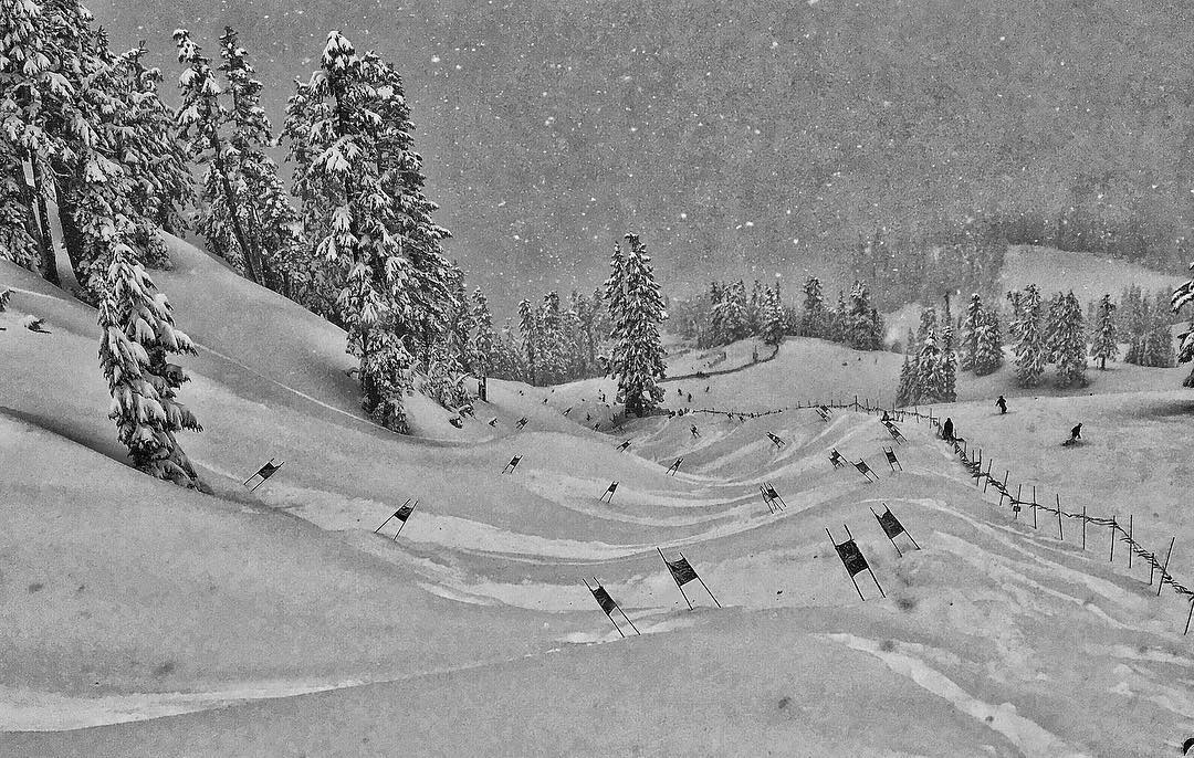 The Legendary Mt. Baker Banked Slalom. #buildbetterjumps