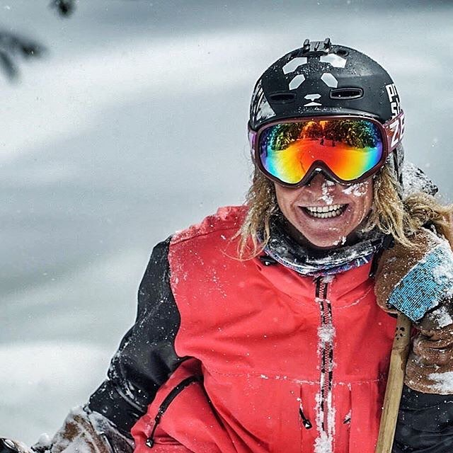 This is what it's all about... This is why we ski!  Katrina DeVore connects with her joy in Aspen, just yesterday... #TribeUP joy!  Photo: @hbuckphoto  Repost: @katrinadevore  #PandaPoles #PandaTribe #MagicSkiWands