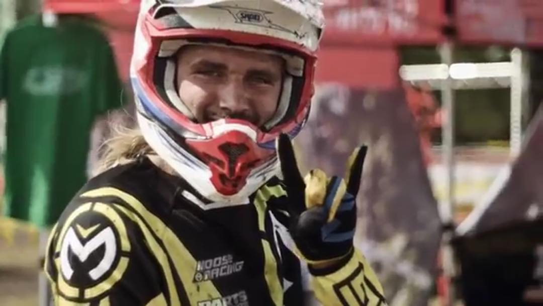 Spotted my face in the @fullgasenduro edit by @sirrobfilms