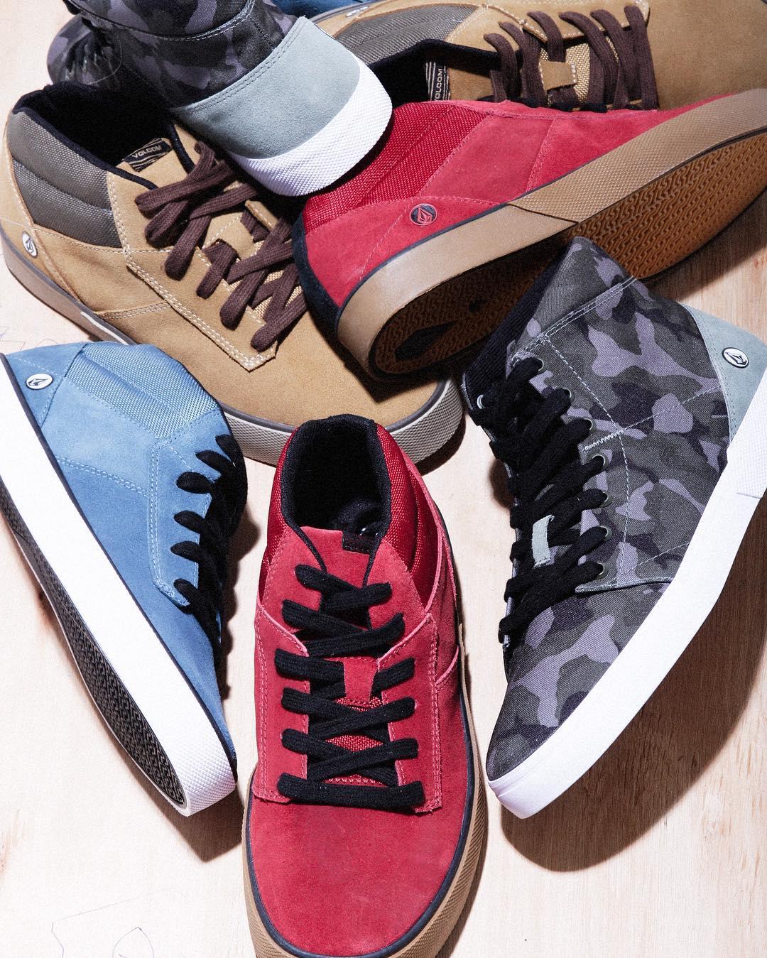 Grimm Mid 2 + Buzzard Camo, lo nuevo de #volcomfootwear #AW16
