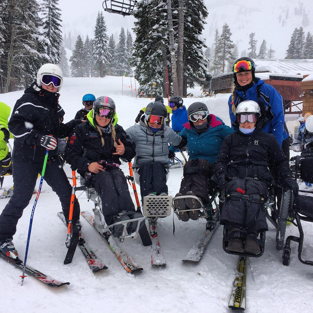 There is no tool for development more effective than the empowerment of women! Thank you @alanathejane for your coaching expertise in High Five US Paralympic Race Camp this week! #internationalwomensday