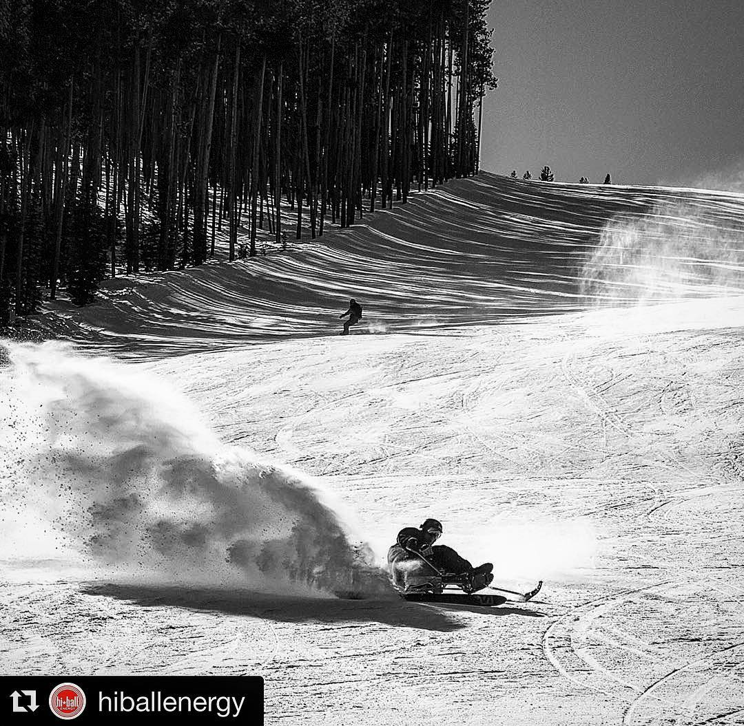Bliss is everywhere!! Thank you @hiballenergy for fueling my adventures with good (#Organic | #FairTrade | #SustainablyProduced) #PositiveEnergy!! Honored to be a #HiBaller.. #hiballenergy | #hiball | #hiballathlete | Zone: @bigskyresort | Photo:...