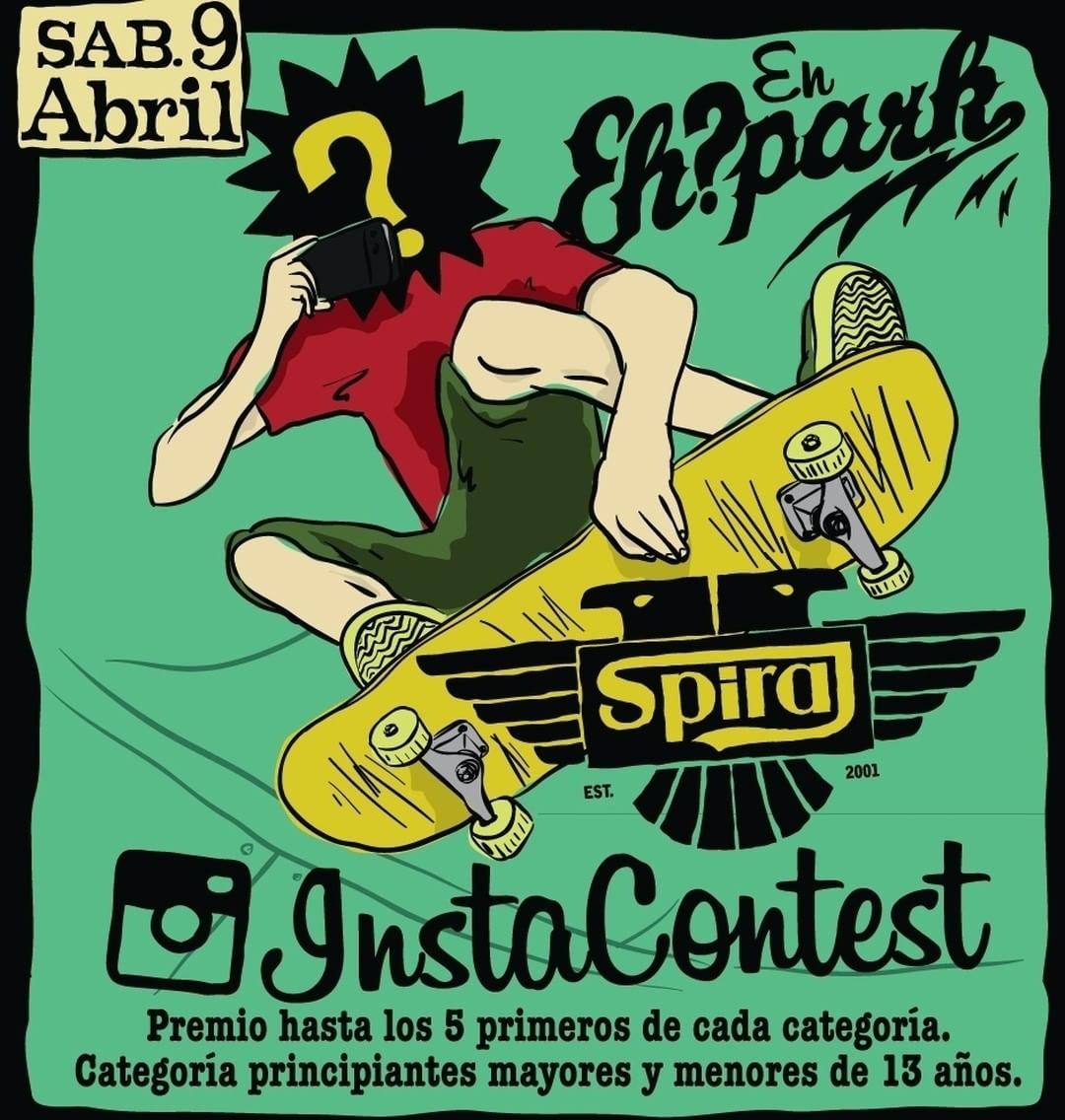 Spiral Contest! Para formar parte de nuestro gran torneo para principiantes en @ehparkparadise_skatepark subí tu vídeo andando o haciendo trucos, etiquetándonos junto al hashtag #RockieSpiralcontest. Por último mandános un mail a...