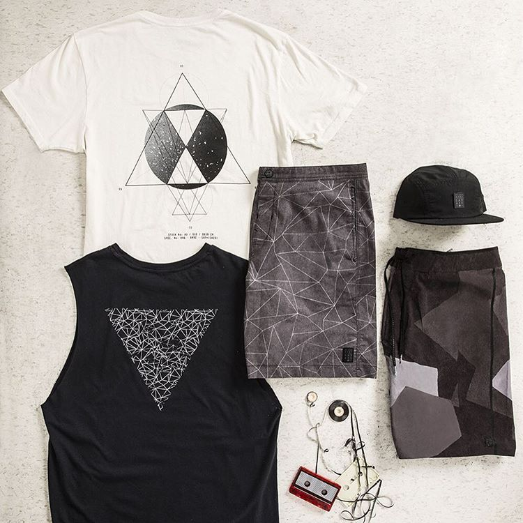 Billabong Garage Collection || Experimental, geometric, raw || In stores or online at Billabong.com.