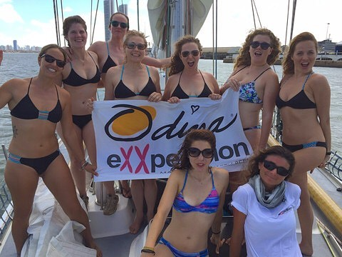 International woman's day! The beautiful scientists of @exxpeditiongirls sailed to the Amazon to record and monitor plastic pollution as it effects the worlds rivers, oceans, and water eco systems! Caring for this planet, inspiring change, and giving...