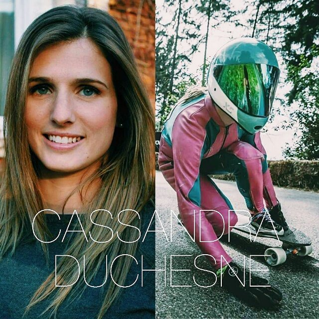 "#Repost @womendownhill ・・・ Woman of the week is @cassandraduchesne ! She finished 5th at the 2015 @idfracing ranking! Congrats. Known as well as ""cass du chêne"" which means ""oak breaker"" in french, and to be true you better take it seriously because..."
