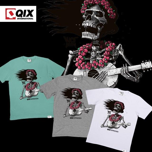 Camiseta QIX Nice Dream. Disponível nas lojas de todo o Brasil.