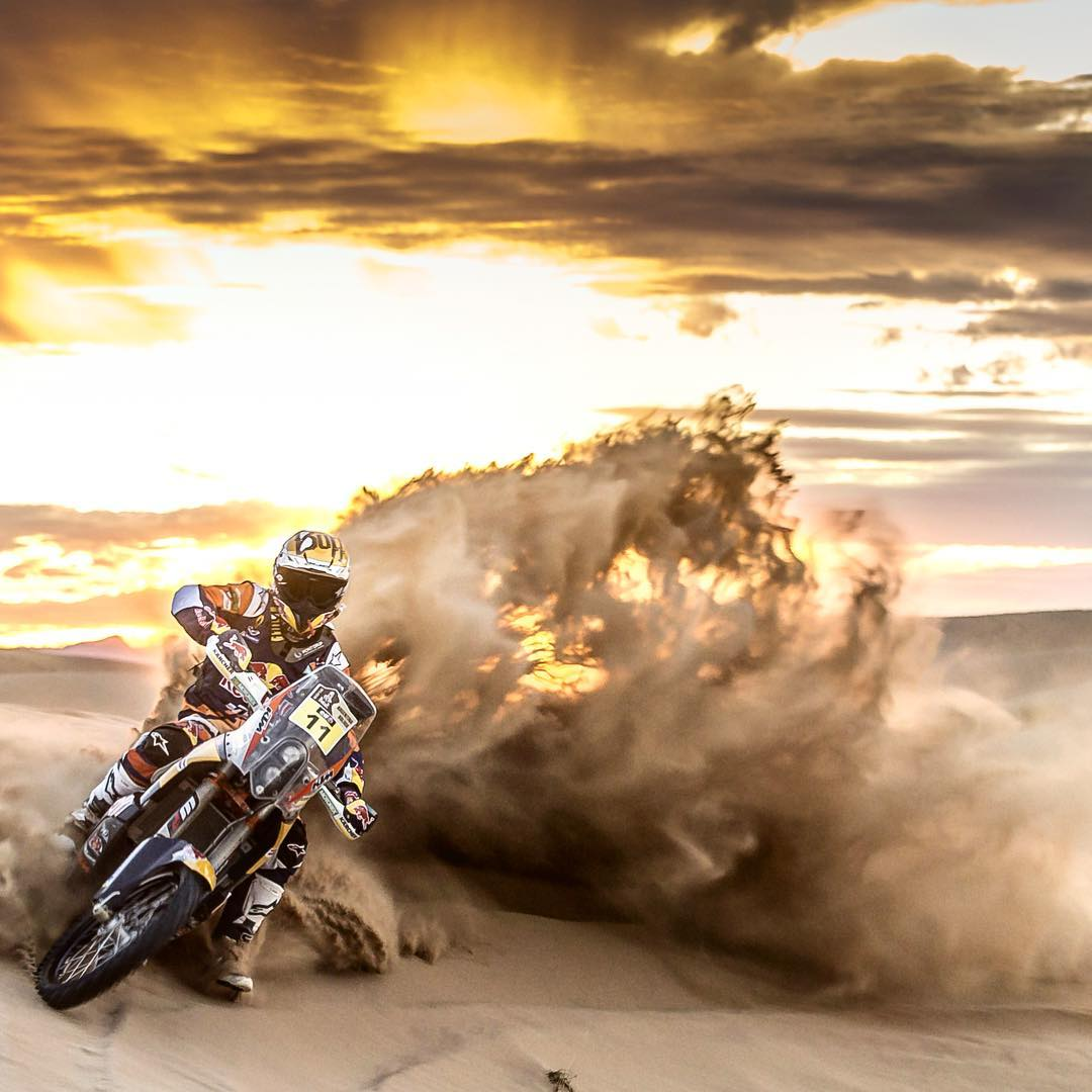 Take the sand by storm.